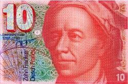 Euler-10_Schweizerfranken_Banknote